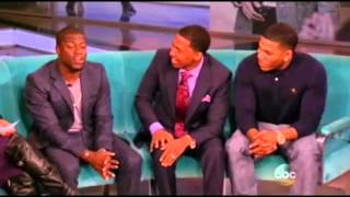 Nick Cannon, Kevin Hart & Nelly Visit The View