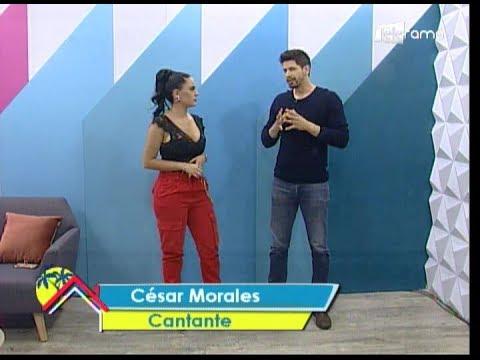 Hoy nos visita César Morales