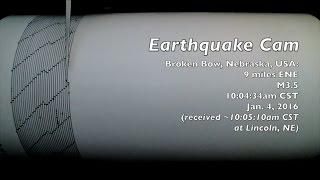 Broken Bow (NE) United States  city pictures gallery : Earthquake Cam - Broken Bow, Nebraska, USA M3.5 . 1.4.2016 ( 地震ウェブカメラ )