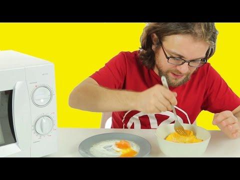 Tavada, ocakta yumurta yapmaya son.