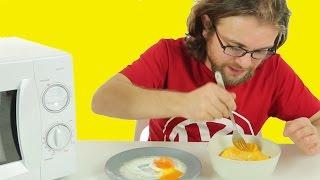 Mikrodalgada Yumurta Nasıl Yapılır?