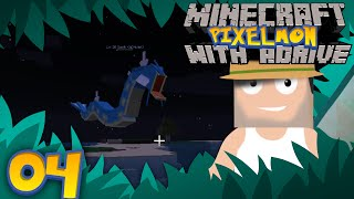 Minecraft PIXELMON with aDrive! Ep04 SUSHI! - PocketPixels White Let's Play! by aDrive