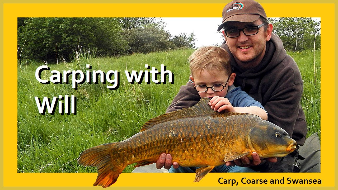 Carping with Will. Carp, Coarse and Swansea Video 137