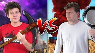 Video EPIC FORTNITE vs. PUBG KILLS CHALLENGE WITH JESSER! MP3, 3GP, MP4, WEBM, AVI, FLV November 2018