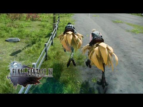 Final Fantasy XV – Chocobo Race Gameplay @ 1080p HD ✔