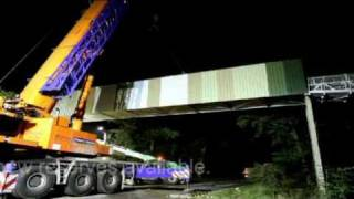 Eversley United Kingdom  city photos gallery : Installation of new conveyor bridge at CEMEX in the UK
