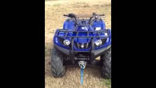 8. 2007 Yamaha grizzly 350 4x4