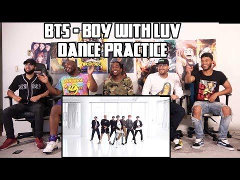 BTS (방탄소년단) '작은 것들을 위한 시 (Boy With Luv)' Dance Practice Reaction/Review
