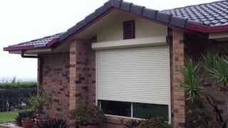 Roller Shutters Motorised with Solar Ballina