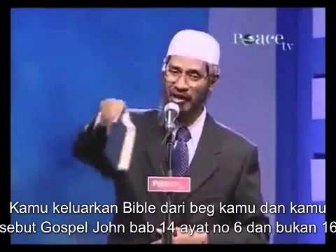 Soalan Saudara Kristian Kepada Dr. Zakir Naik
