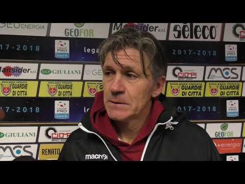 Pontedera-Arezzo 0-0, intervista a Massimo Pavanel