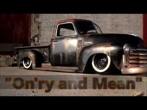 """On'ry And Mean"" Slammed Hot Rod LS Swapped 3100 Chevrolet FOR SALE!"