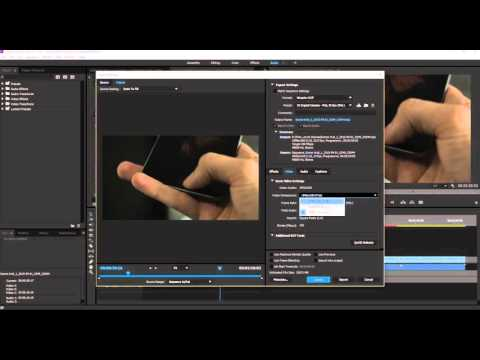 How to Export from Premiere to a Cinema Package