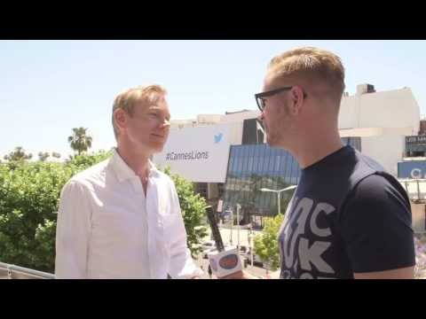 Bert Hagendoorn interviewt Mark Berendsen (Google) #canneslions