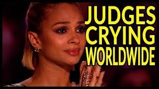 "Video Top 10 ""WHEN JUDGES STARTS to CRY on GOT TALENT WORLD! MP3, 3GP, MP4, WEBM, AVI, FLV Maret 2019"