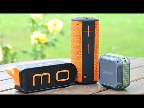 3 SEHR GUTE mobile Bluetooth Lautsprecher für Unterwegs