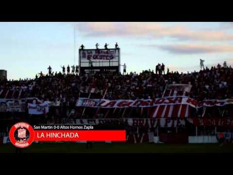 RpkdC - La hinchada de San Martin de Tucuman en el empate frente a Altos Hornos Zapla - La Banda del Camion - San Martín de Tucumán
