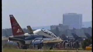 SIAD 1999 - Yak-130 / Aermacchi M-346 prototype