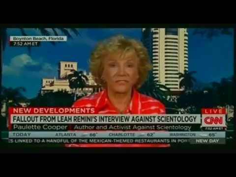 """CNN """"New Day,"""" Leah Remini Breaks From The Church of Scientology, Guest Paulette Cooper, 11/02/2015"""