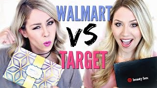 UNBOXING | Walmart vs Target Beauty Box by Eleventh Gorgeous