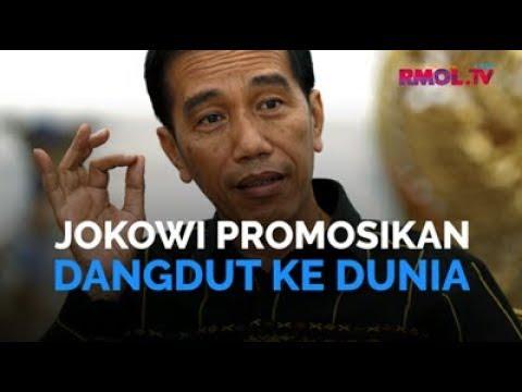 Jokowi Promosikan Dangdut Ke Dunia