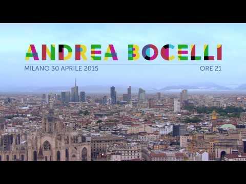 Andrea Bocelli Ambassador Extraordinary Expo Milano 2015