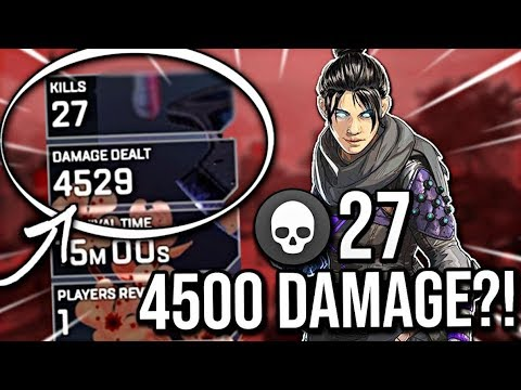 GETTING 4500 DAMAGE IN A GAME OF APEX LEGENDS