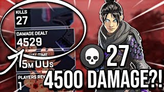 Video GETTING 4500 DAMAGE IN A GAME OF APEX LEGENDS MP3, 3GP, MP4, WEBM, AVI, FLV Maret 2019