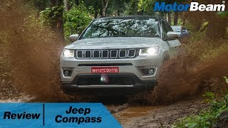https://www.motorbeam.com reviews the Jeep Compass which is the most affordable car from the Jeep brand in India. Manufactured in India for the world (right-hand drive markets), the Compass boasts of high-tech manufacturing processes and off-road capability. To be priced under Rs. 25 lakhs for the top-end model, the Jeep Compass rivals the Hyundai Tucson in the Indian market.The Jeep Compass is powered by a 2.0-litre diesel engine which returns a mileage of 12-14 km/l. It will also be available with a diesel automatic and a 1.4-litre MultiAir engine. The SUV rides on Fiat's 500X platform that also underpins the Renegade.Become a #MotorBeamer: http://bit.ly/MotorBeamerVisit our website: https://www.motorbeam.comLike us on Facebook: https://www.facebook.com/MotorBeamFollow us on Instagram: http://instagram.com/MotorBeamFollow us on Snapchat: MotorBeamFollow us on Twitter: https://twitter.com/MotorBeamCheck us out on Pinterest: https://www.pinterest.com/motorbeam+1 us on Google Plus: https://plus.google.com/+motorbeamMusic Credits - Audio Library - https://www.youtube.com/channel/UCht8qITGkBvXKsR1Byln-wA/videos