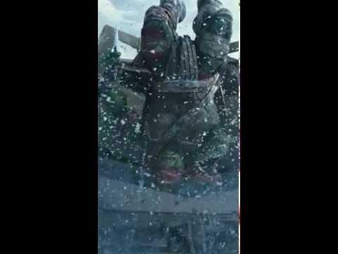 【忍者龜:變種世代】動態海報-拉斐爾