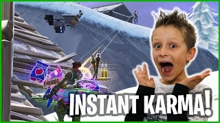 Instant Karma Right After Christmas!