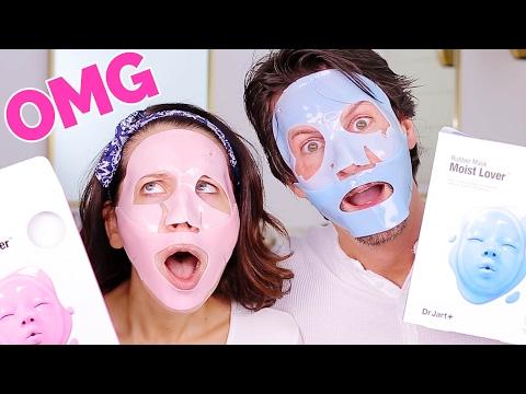 GROSS FACE MASKS ... OMG !!!