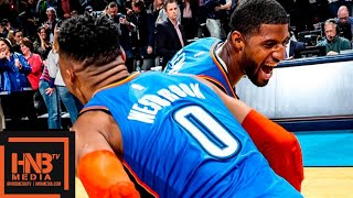 Oklahoma City Thunder vs Utah Jazz Full Game Highlights | Feb 22, 2018-19 NBA Season