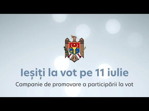 Президент Майя Санду призывает граждан прийти на выборы 11 июля