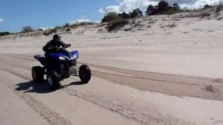 4. Kawasaki KFX 700 top speed Quad ATV