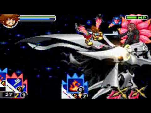Kingdom Hearts Chain Of Memories: Final Boss - Marluxia II Ending And Credits Part 1/2