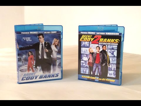 Agent Cody Banks / Agent Cody Banks 2 - Blu Ray Unboxing and Review