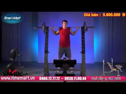 Máy tập thể hình đa năng GM 4360 giúp bạn tập gym tại nhà.