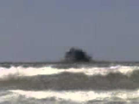 Вулкан в Голубицкой(Азовское море).3gp (видео)