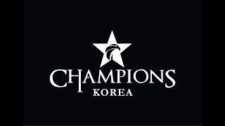 SK telecom T1 vs. Jin Air GreenWings Longzhu Gaming vs. Ever8 Winners Welcome to the League of Legends Champions Korea ...