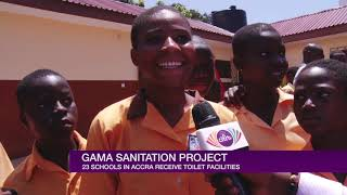 GAMA PROVIDES 23 PUBLIC SCHOOLS WITH TOILET FACILITIES