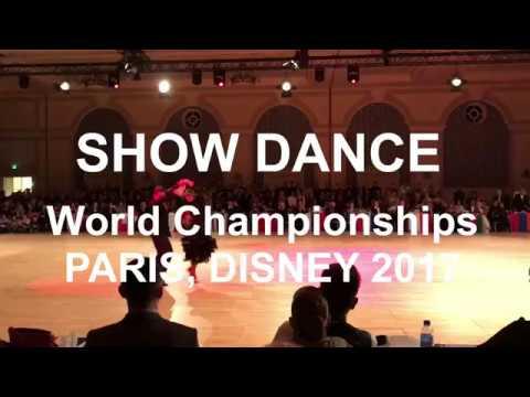 Show Dance, Pasodoble, World Champiinships, Disney 2017, Paris