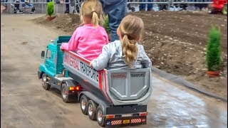AWESOME BIG RC Trucks, Tractors and heavy Machines work hard!
