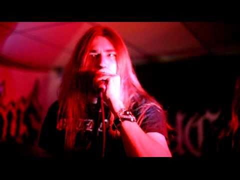 Crucifyre live at Cursed Uppsala 4th November 2010