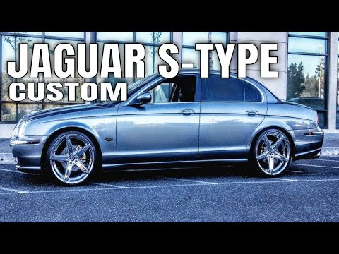 Jaguar S Type lowered on 20 inch rims : 20s