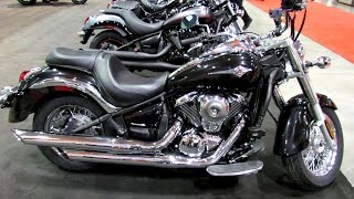 9. 2014 Kawasaki Vulcan 900 Classic Walkaround - 2014 Toronto Motorcyle Show