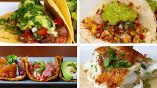 4 Ways To Make Healthy Tacos by Tasty
