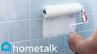 Painting Ceramic Tile - Easily update your old tub—without remodeling!  | Hometalk