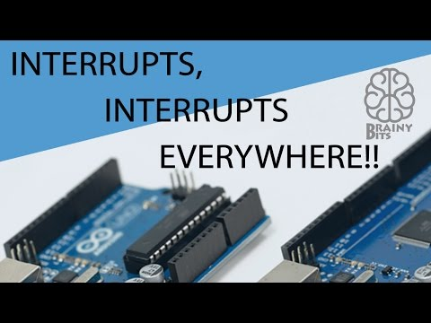 Interrupts, Interrupts everywhere! Make any Pin an Interrupt Pin on your Arduino - Tutorial