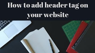 How to add header tag on your website